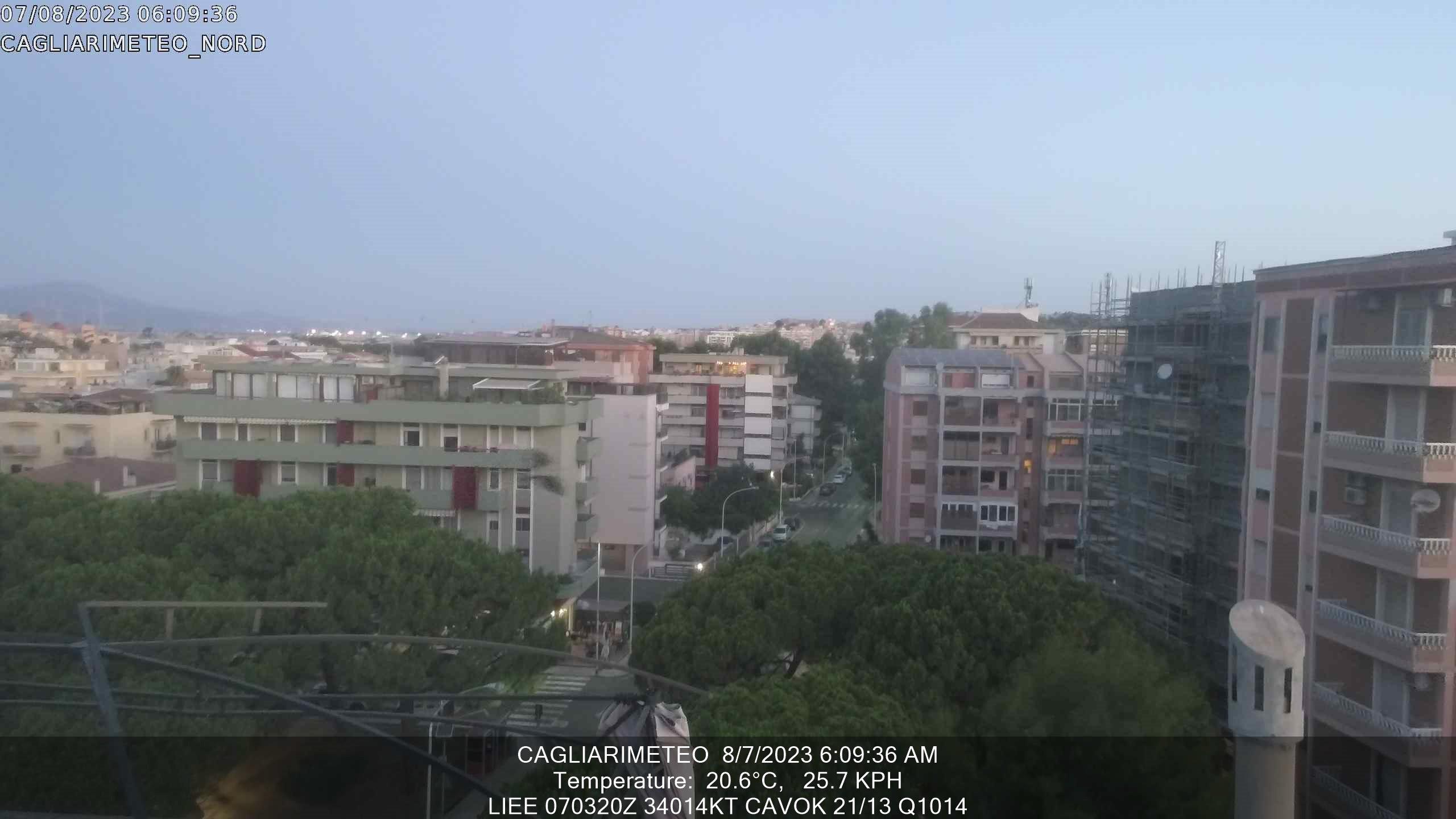 Webcam meteo Cagliari