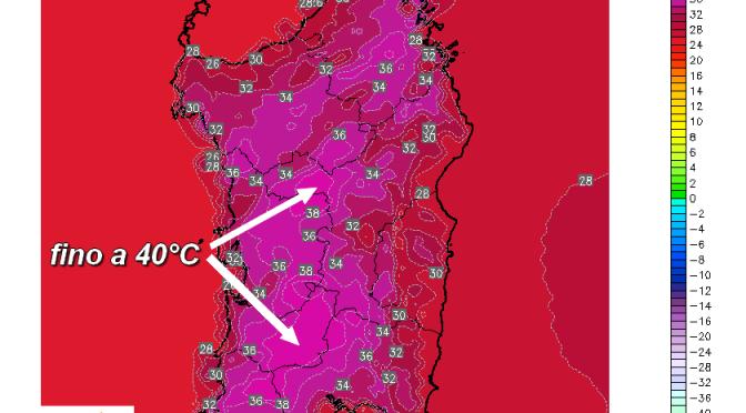 Giovedì termometri fino a 40°C: ecco dove