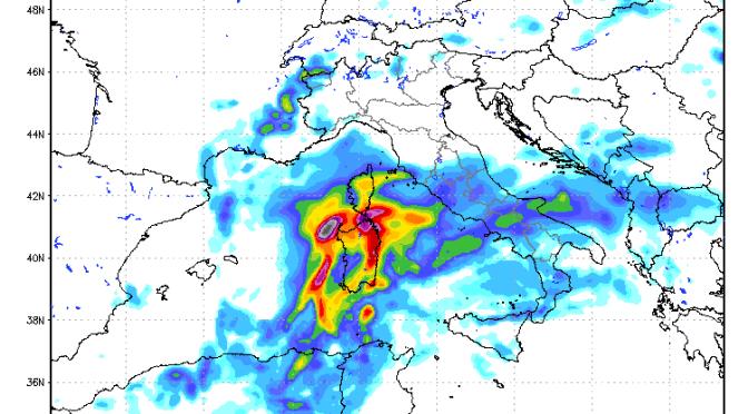 Allerta meteo Sardegna: rischio nubifragi Venerdì, specie su province di Cagliari, Nuoro, Olbia-Tempio
