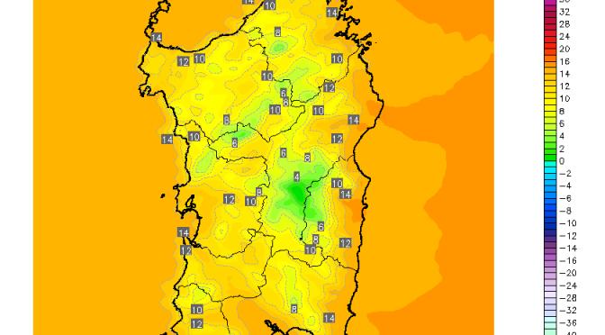 Temperature in forte calo, domenica non si andrà oltre i 15°C