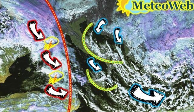 Allerta Meteo: la tempesta polare si allontana verso est ma da ovest arriva un'altra perturbazione