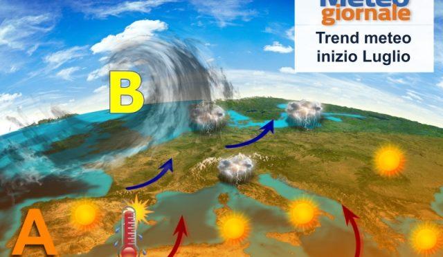 Arriva luglio: meteo d'estate o altri colpi di scensa? Ecco le novità