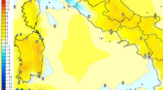 Weekend, tornerà il gran caldo: forte rialzo delle temperature