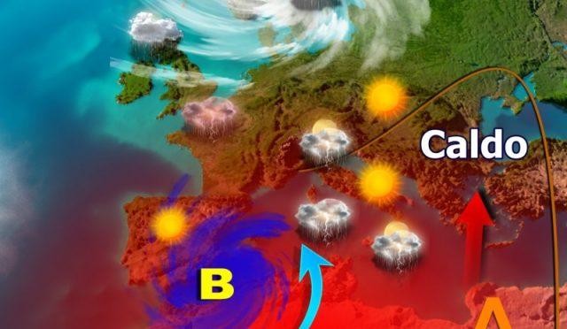 Repentini cambiamenti meteo: prima i temporali, poi l'ottobrata e ancora maltempo