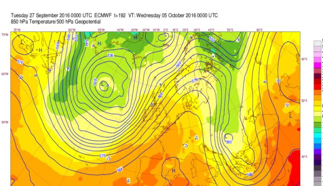 Previsioni Meteo Ottobre: clamorosa ipotesi per il Sud, arriva il primo vero freddo dalla Russia? Ecco le MAPPE ECMWF