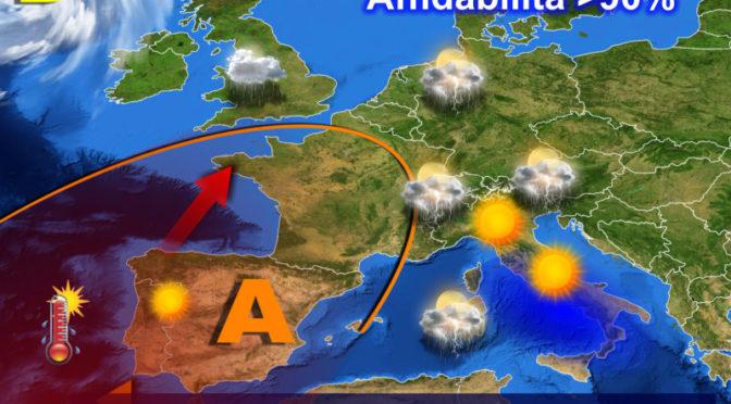 Dopo i fugaci temporali, attesi in parte dell'Isola anche giovedì, nuova fase di caldo estivo sulla Sardegna