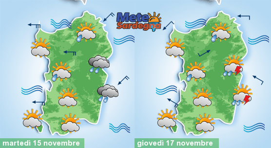 Meteo settimanale: continuerà il maltempo. Prima piogge a est, poi diffuse