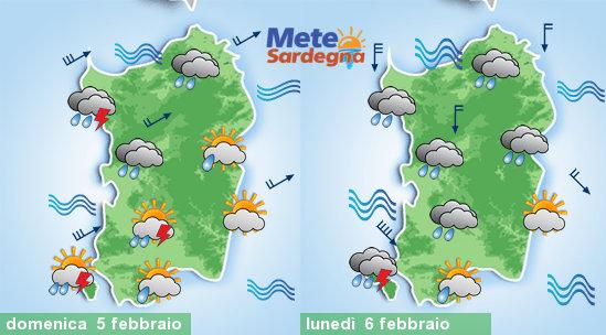 Severo peggioramento meteo nel weekend. Lunedì venti di tempesta
