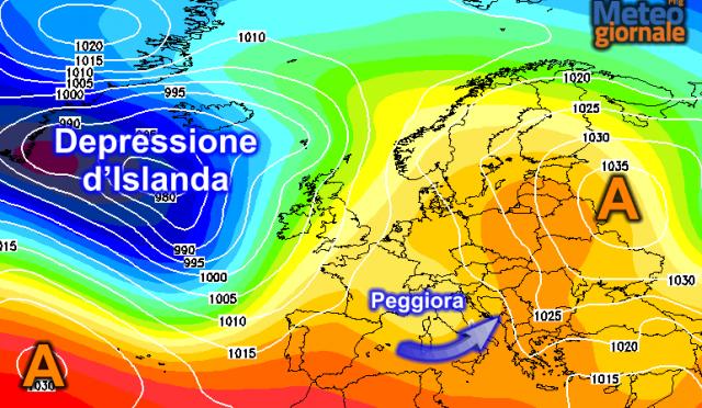 Meteo altalenante: dopo il clima mite, altre forti ondate di maltempo