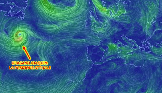 Uragano Joaquin, aggiornamenti clamorosi: si dirige verso Spagna e Portogallo! Le MAPPE