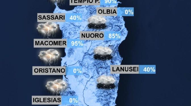 Sardegna, arriva l'Inverno