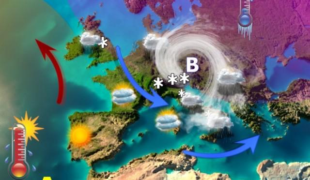 Ciclone mediterraneo e meteo estremo di fine febbraio. Intenso maltempo anche a inizio marzo