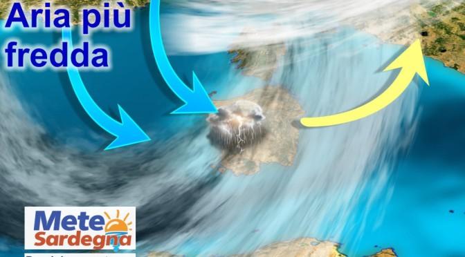 Forte peggioramento meteo nel weekend, piogge e neve. Nuova ondata maltempo