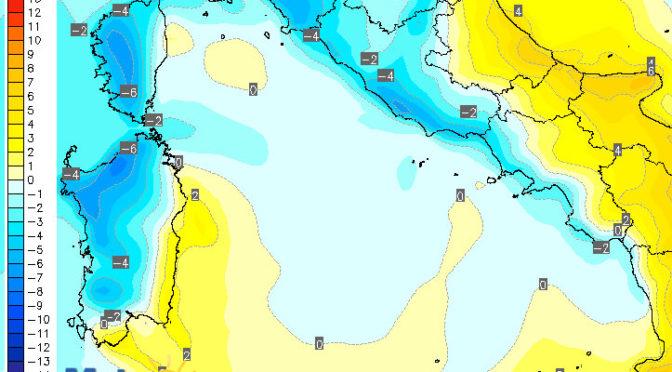 Lunedì di nuovo fresco: temperature in forte calo