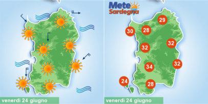 Meteo, sarà piena estate in Sardegna. Anticiclone porterà caldo in aumento