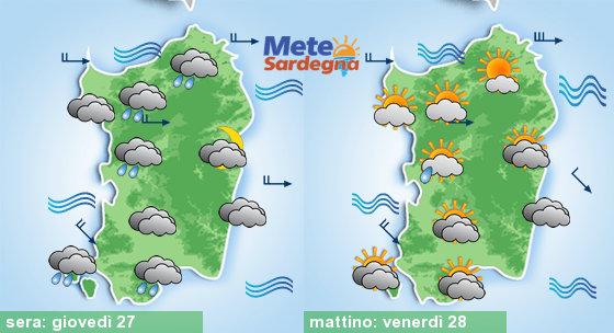 Peggioramento meteo imminente: giovedì possibili temporali
